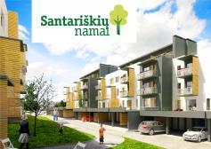 """Nauji butai """"GILĖ"""" - Santariškių namai"""