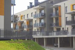 Naujas 3 k. butas Santariškėse šalia Verkių parko tik nuo 263 €/mėn. (908 Lt/mėn.) !