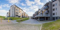 Naujas 1 k. butas Santariškėse šalia Verkių parko tik nuo 147 €/mėn.!