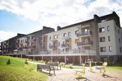 Naujas 4 k. butas per du aukštus su terasa Santariškėse  tik nuo 400 €/mėn.!