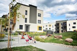 Naujas 2 k. butas Santariškėse su daline apdaila - tik nuo 201 €/mėn.!