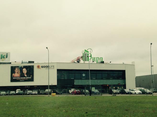 "Prekybos centras ""PUPA"" Priegliaus g. 1, Vilniuje"