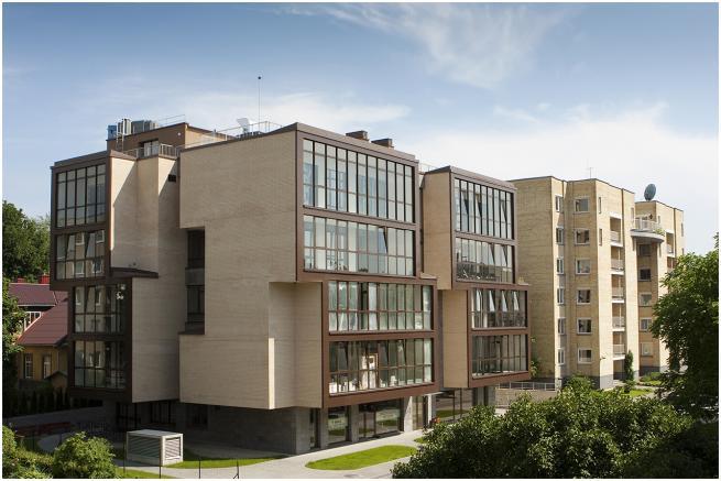 Komercinės patalpos K. Donelaičio g., Vilniuje
