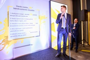 Domas Dargis atidengia VC bendruomenės taisykles