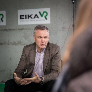 EIKA valdybos pirmininkas Robertas Dargis