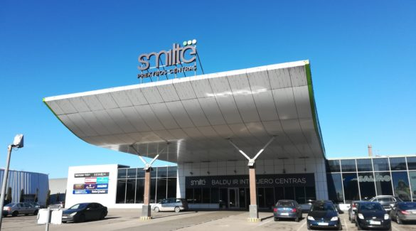 Prekybos centras Klaipėdoje Smiltė